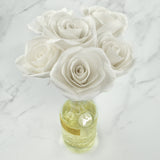 Penny & Rose Signature Floral Oil Diffuser | White Rose