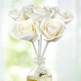 Penny & Rose Signature Floral Diffusers | White Rose