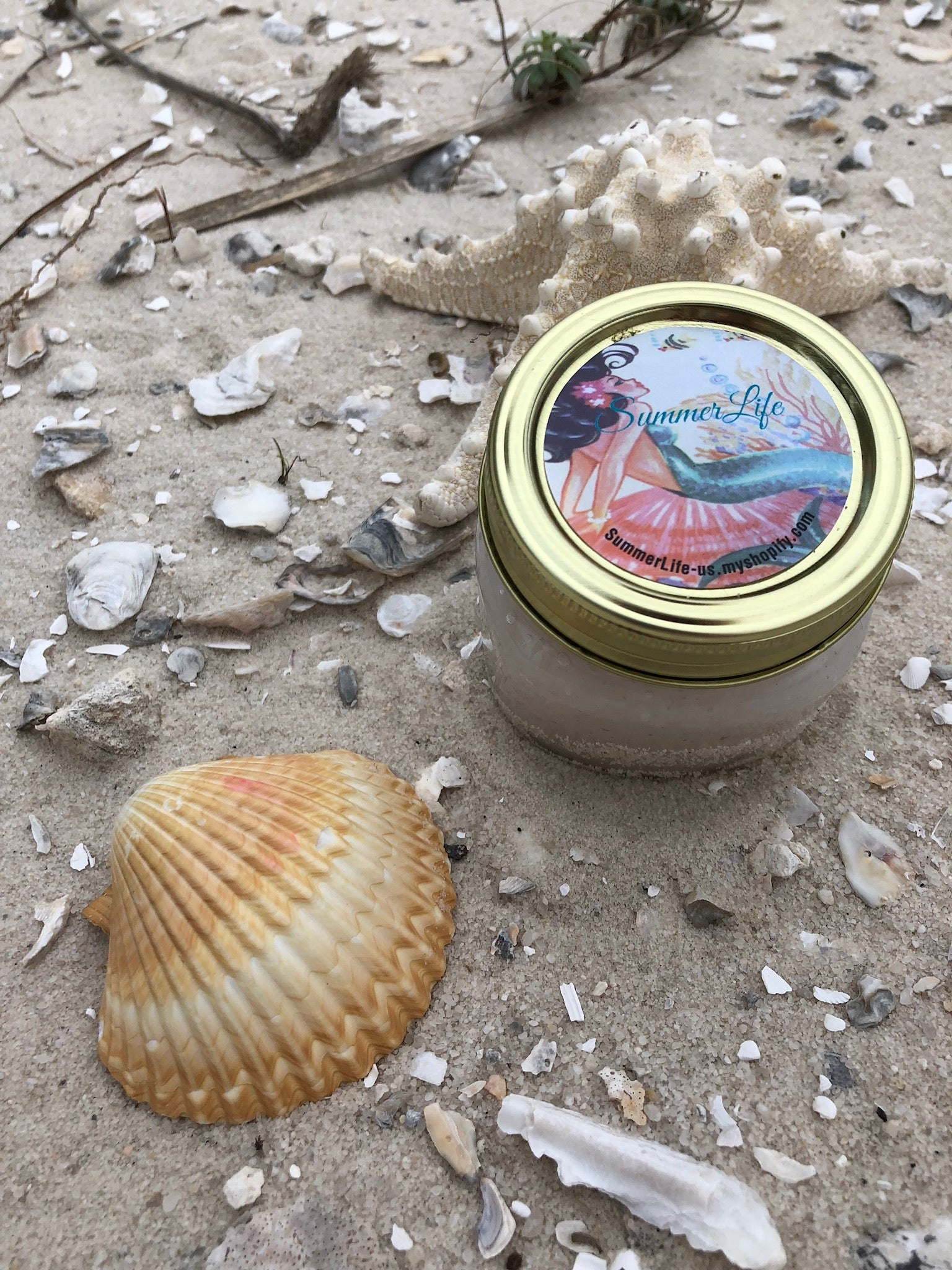 Mermaid Salt Scrub