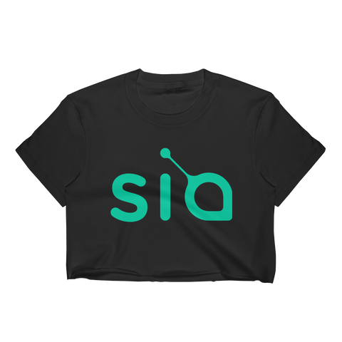 Siacoin Women's Crop Top