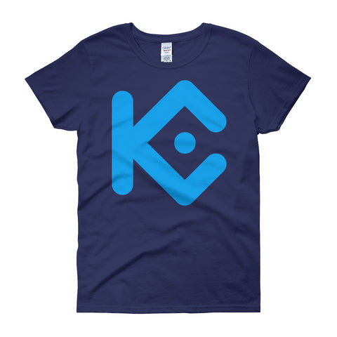 KuCoin Shares Women's short sleeve t-shirt