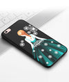 tamACX - Begum painted case for iPhone 6 6 plus 6s 6s plus 7 7 plus 8 8 plus X
