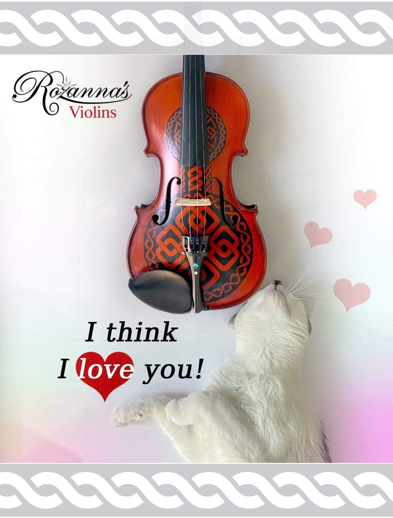 Rozanna's Violins Celtic Love Violin Outfit