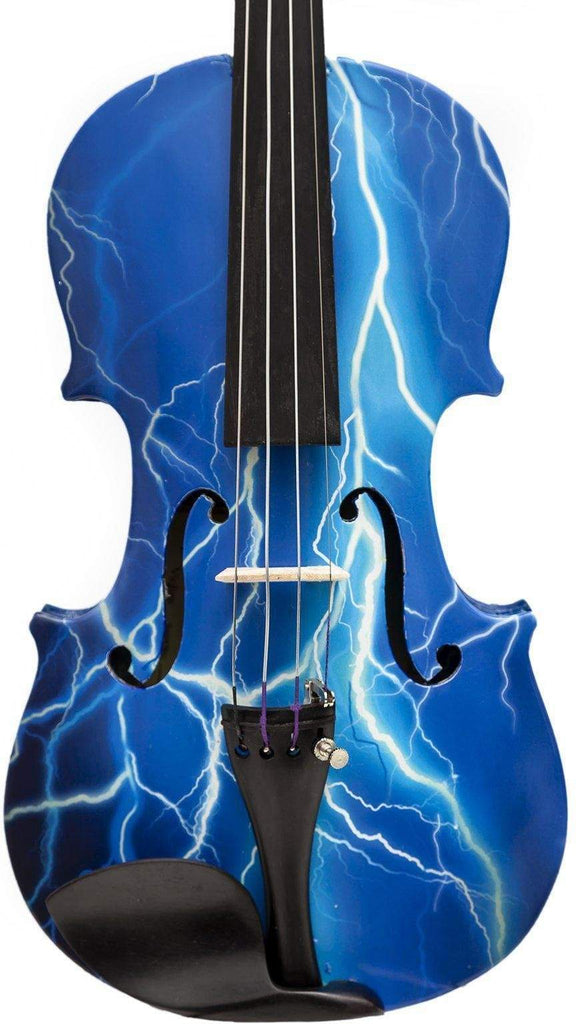 Rozanna's Violins 4/4 Rozanna's Violins Blue Lightning Violin Outfit