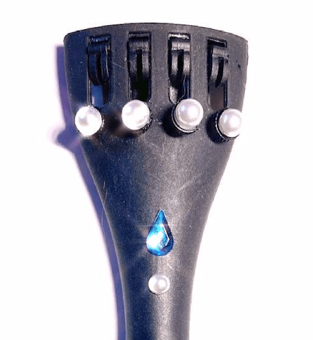 Rozanna's Violins Musical Instruments Pearl Violin Tailpiece