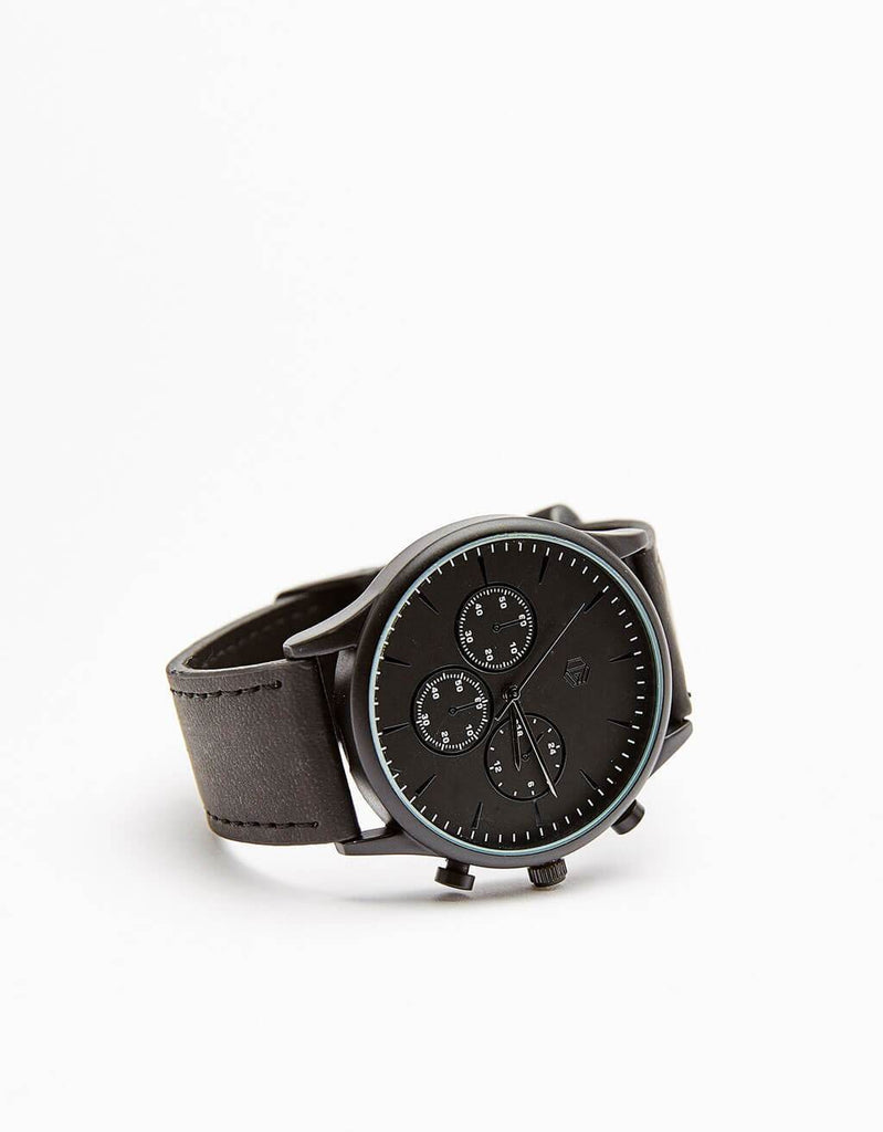 Leather strap watches