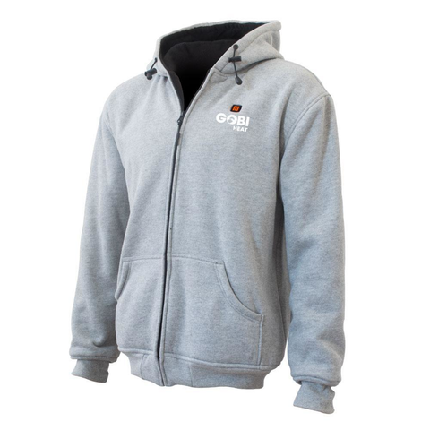 Ridge Mens 3 Zone Heated Hoodie
