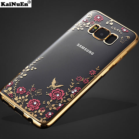 Luxury Gold case for Samsung Galaxy S8 and S8 plus