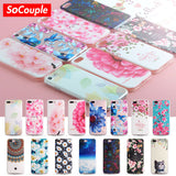 Flower Case for all iphones 5-6-7-8-X