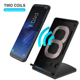 Smart Wireless charger for Samsung Note 8, S8, S7, S6, S6edge