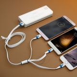 3 in 1 cellphone charger for ALL iphones and Androids