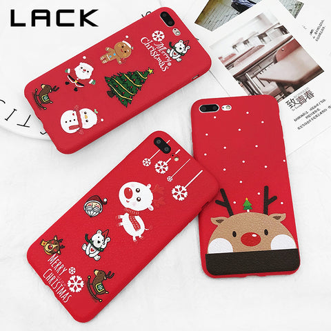 Christmas Theme Case for All iphone 7-8 and X
