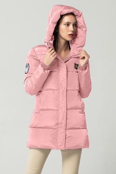 48a1f4ae8 New Long Down Parkas Female Women Winter Coat Thick Warm Cotton ...