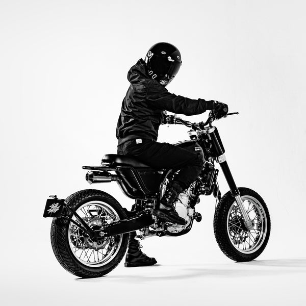 Dab Motors Limited Edition Bloody Beetroots Motorbike