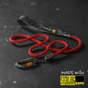 climbing rope dog leash carabiner
