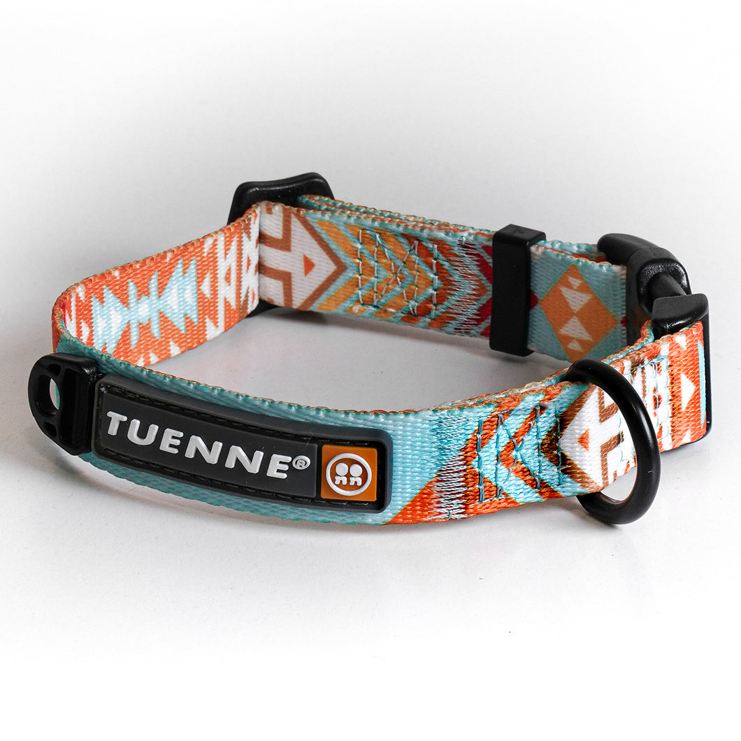 southwest pattern dog leash dog collar
