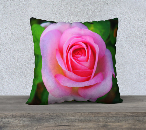 Hybrid Tea Rose Pillow