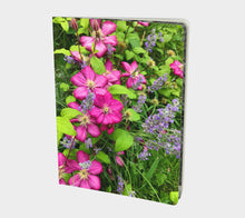 Summer Flowers Notebook