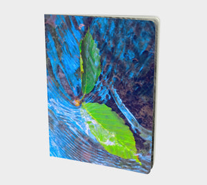 Leaves in a Stream Notebook