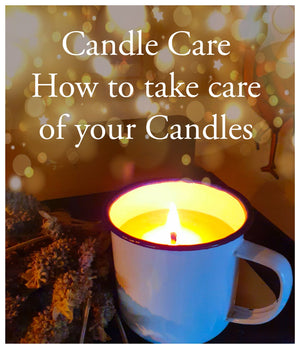 Candle Care - How to look after your candles