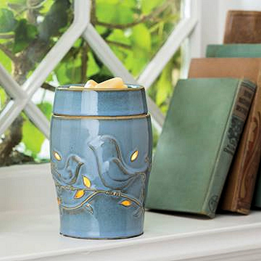 Blue Bird Electric Candle Warmer