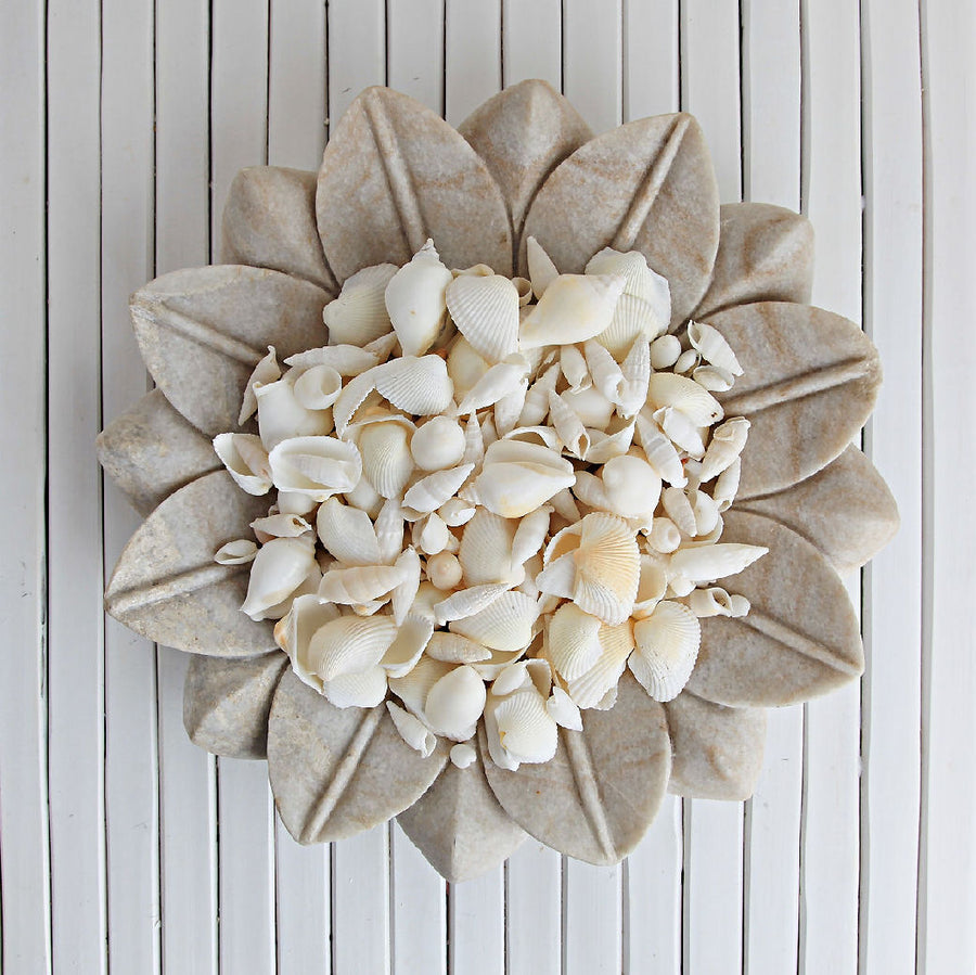 Pure White Mixed Shells 200g