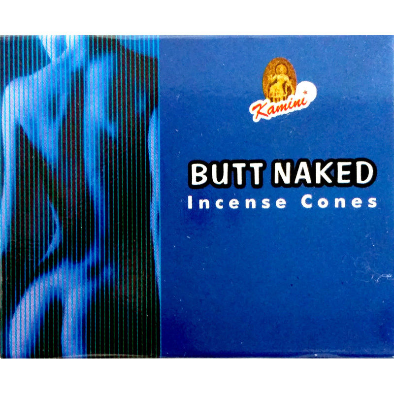 Butt Naked Incense Cones