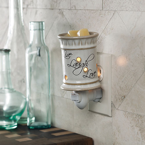 Live Laugh Love Pluggable Wax Warmer