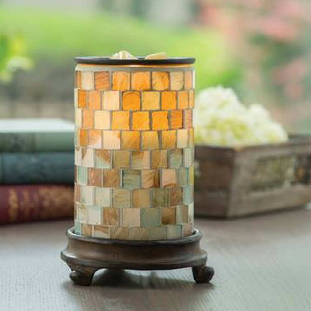 Sea Glass Electric Candle Warmer