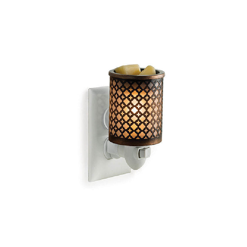 Moroccan Pluggable Electric Candle Warmer