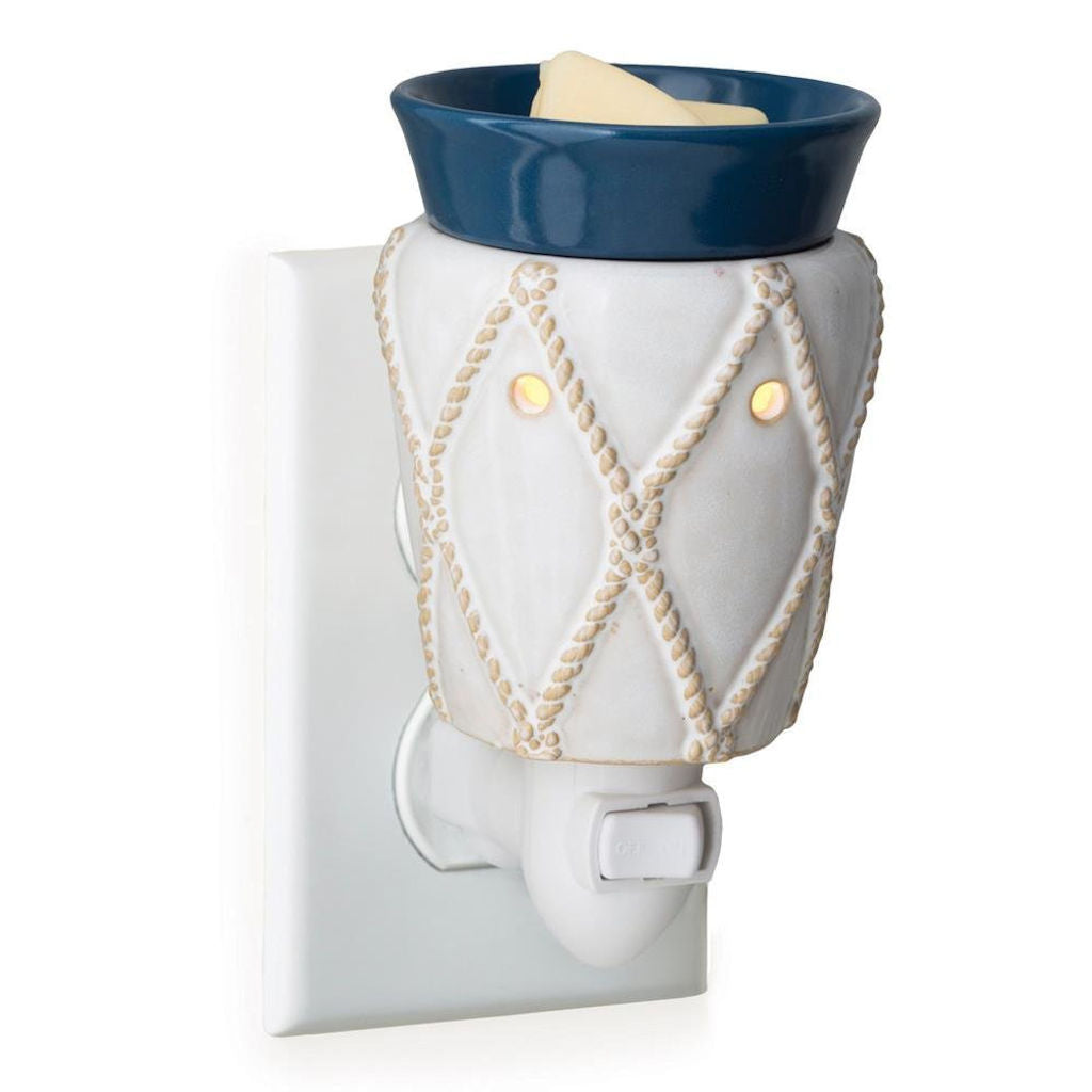 Nautical Pluggable Electric Candle Warmer