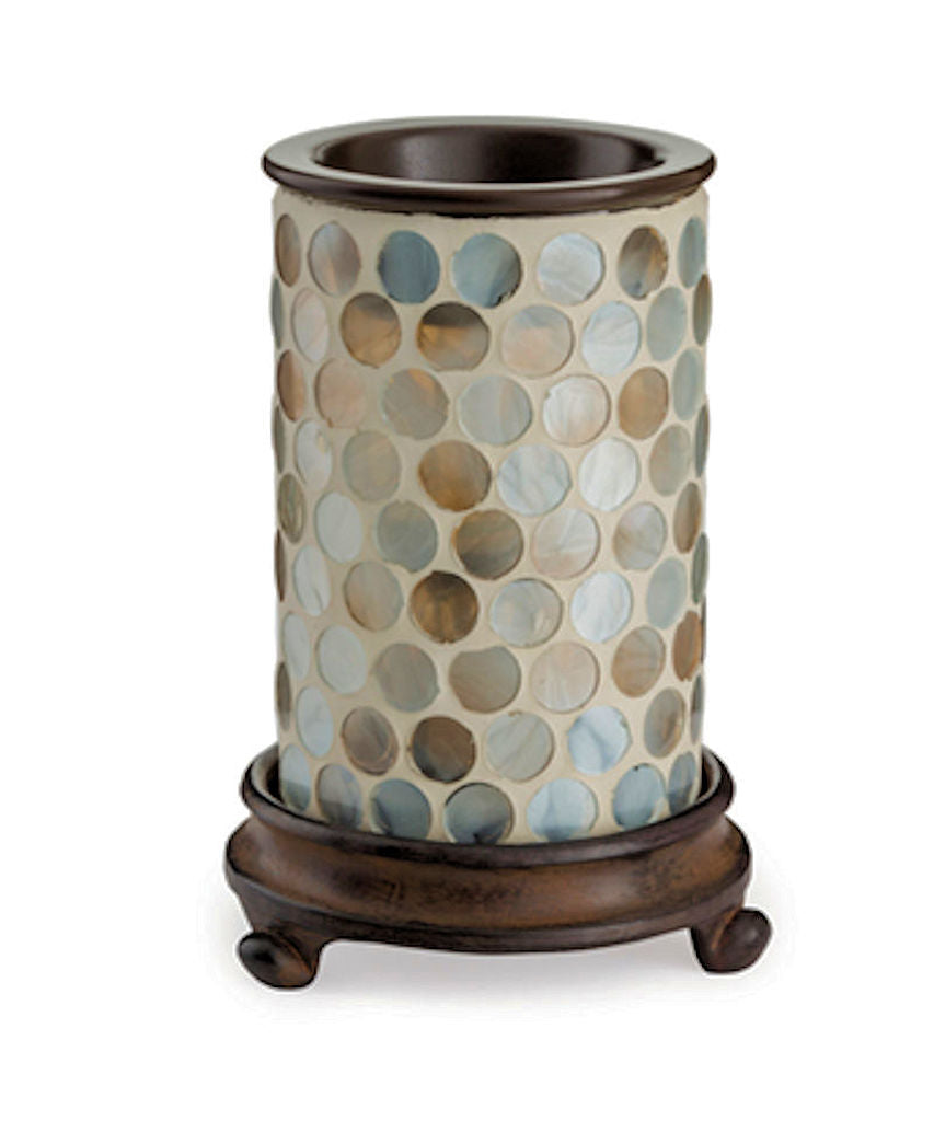 Pearl Glass Electric Candle Warmer