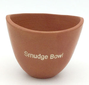 Smudge Clay Bowl