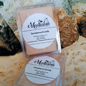 Sandalwood & Vanilla Soy Wax Melts