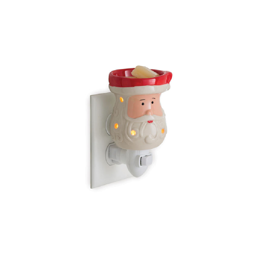 Santa Pluggable Electric Candle Warmer