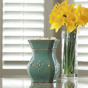 Turquoise Electric Candle Warmer