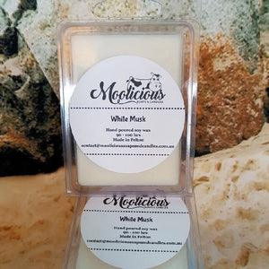 White Musk Soy Wax Melts