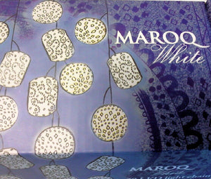 Moroccan Inspired Exotic White Marog String Led Lights