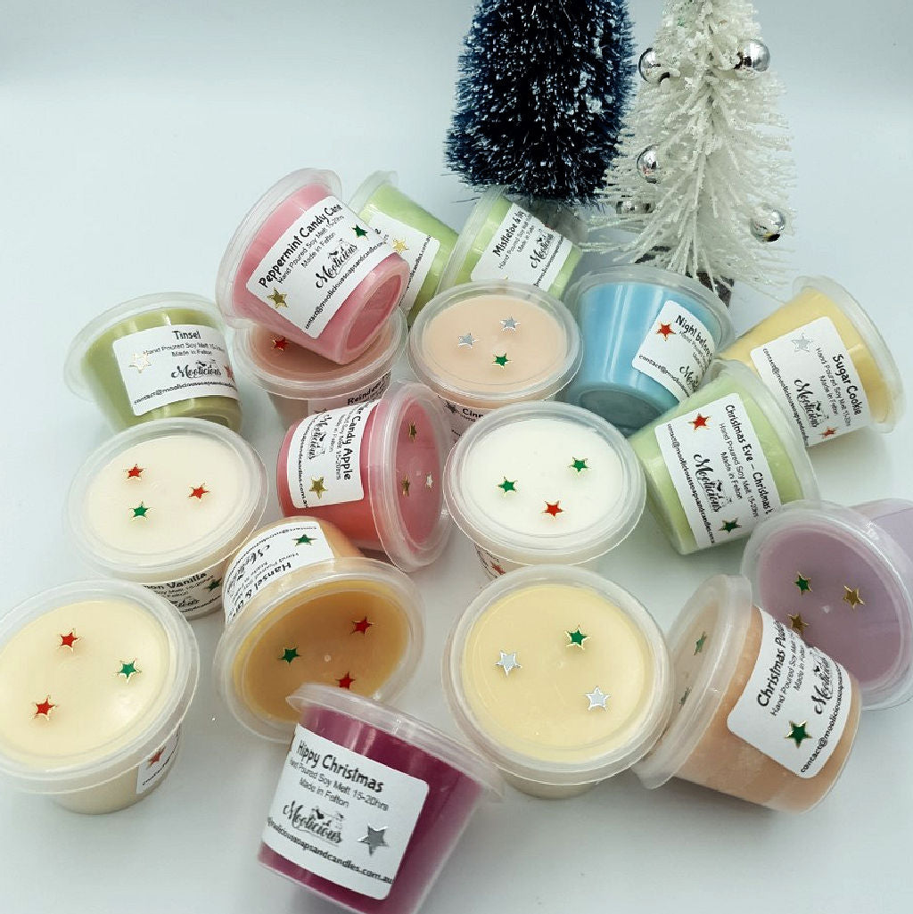 Christmas Soy Wax Melts Pots