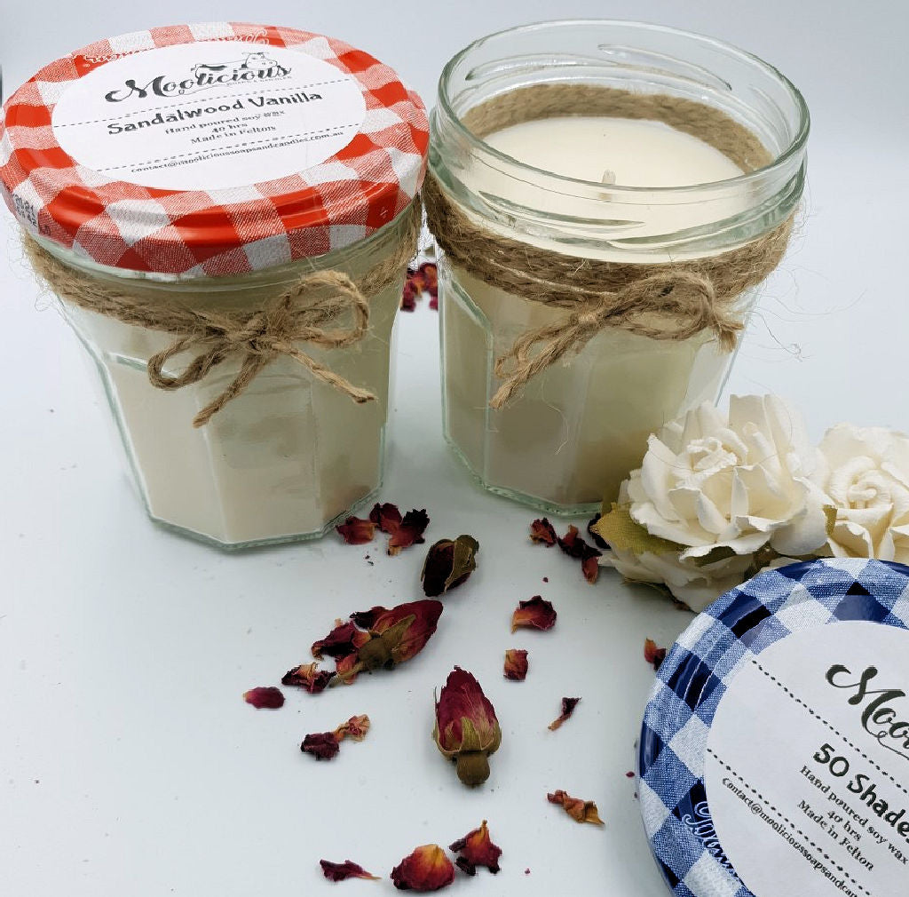 Zero Waste Soy Wax Candle