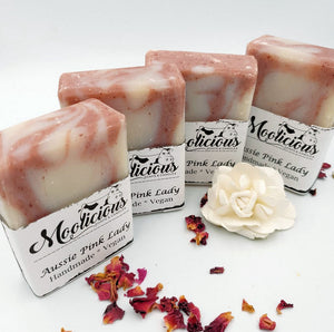 Aussie Pink Lady Handmade Natural Soap