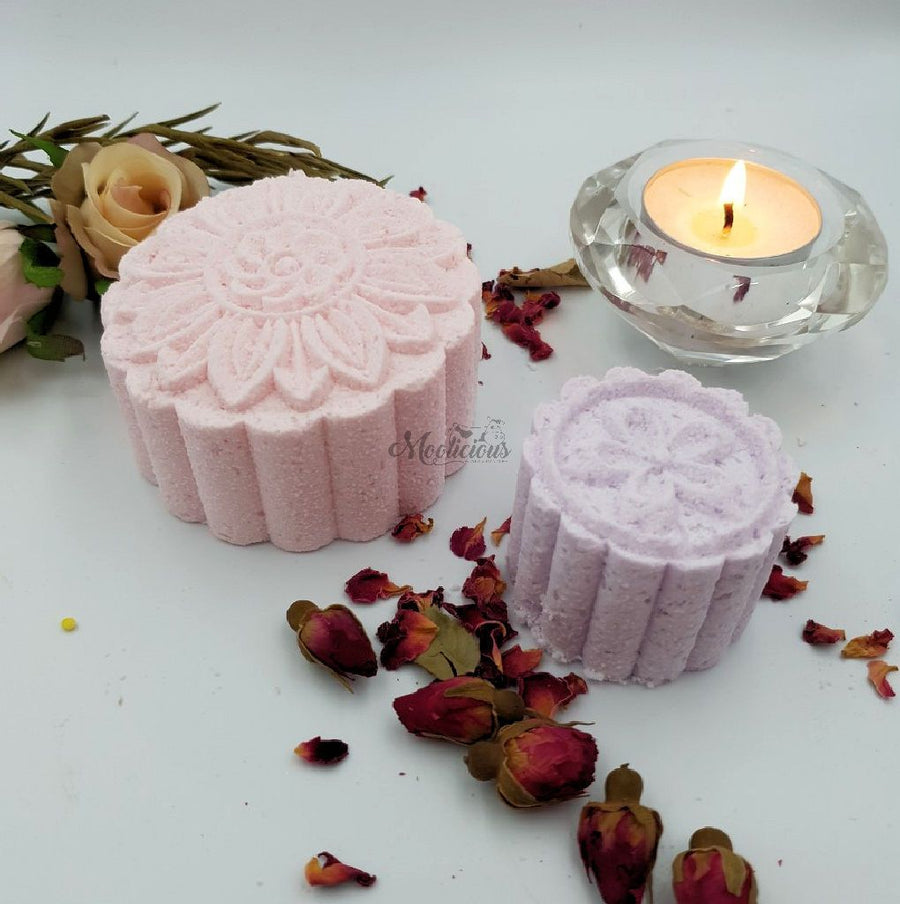 Flower Bath Bombs