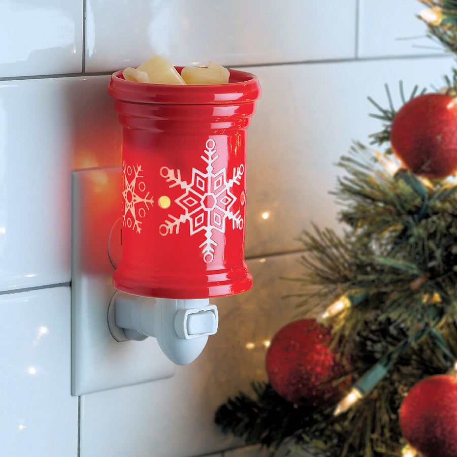 Snowflake Pluggable Wax Warmer