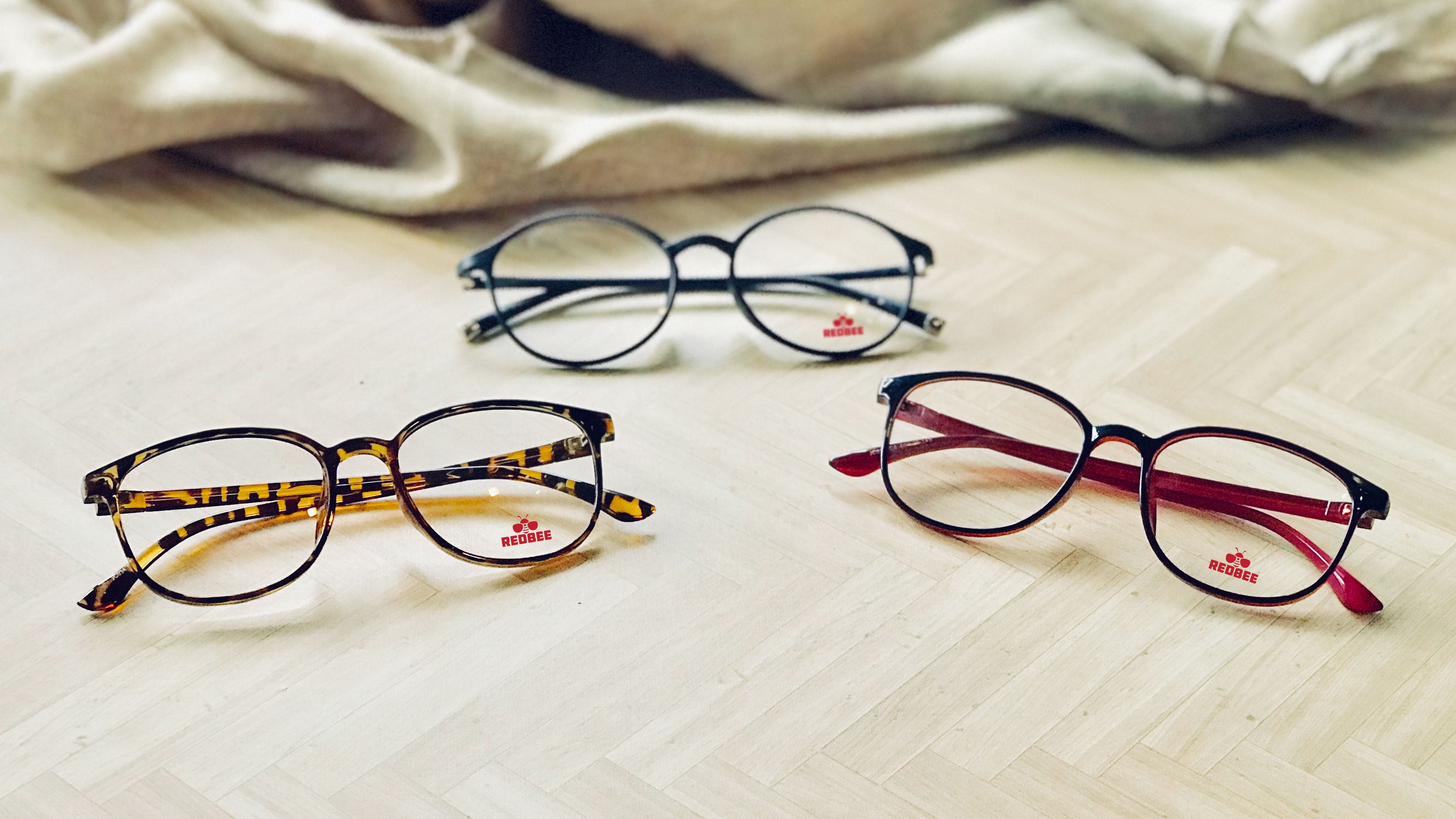 Red Bee Glasses