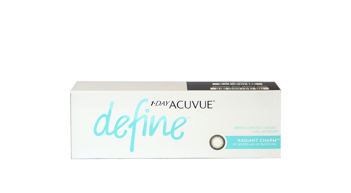 Johnson & Johnson 1 Day Acuvue Define Radiant Charm Contact lens