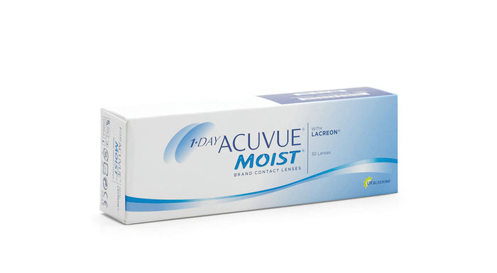 Johnson & Johnson 1 Day Acuvue Moist Contact lens
