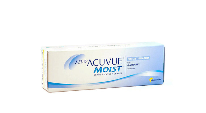 Johnson & Johnson 1 Day Acuvue Moist for Astigmatism Contact lens