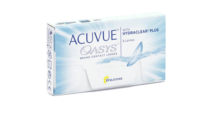 Johnson & Johnson Acuvue Oasys Contact lens