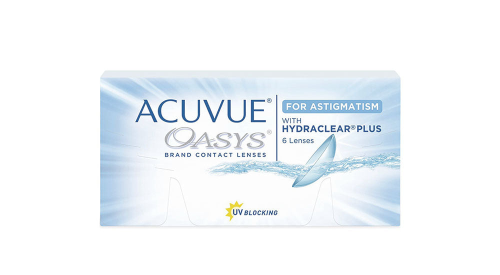Johnson & Johnson Acuvue Oasys for Astigmatism Contact lens