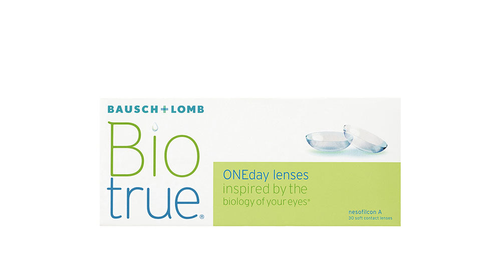 Bausch and Lomb Biotrue ONEday Disposable Contact Lens (30 lenses/box)